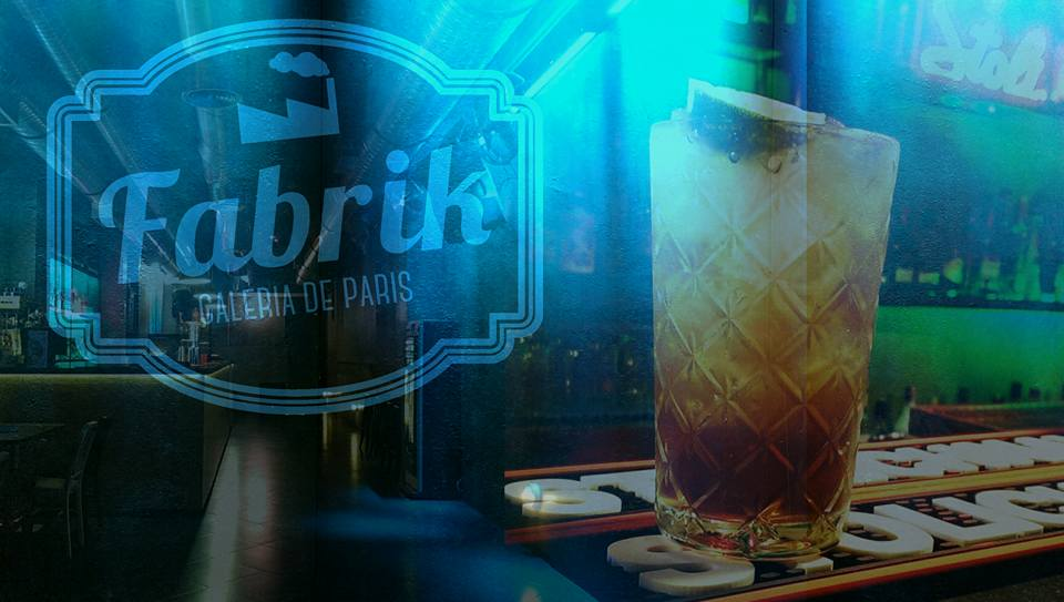 An overview of Fabrik Bar, Porto, Portugal