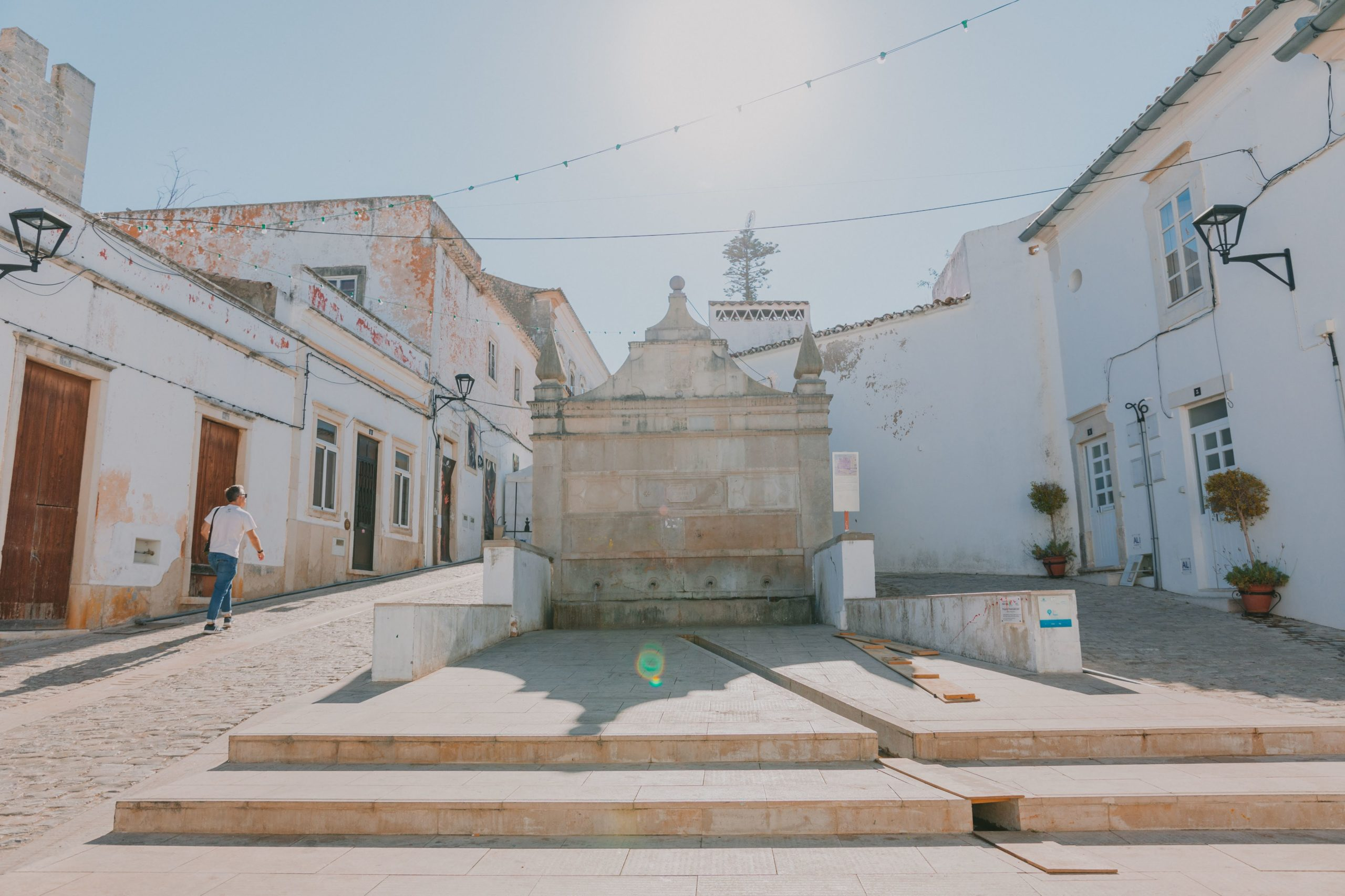 Take a walk around the narrow streets in Algarve